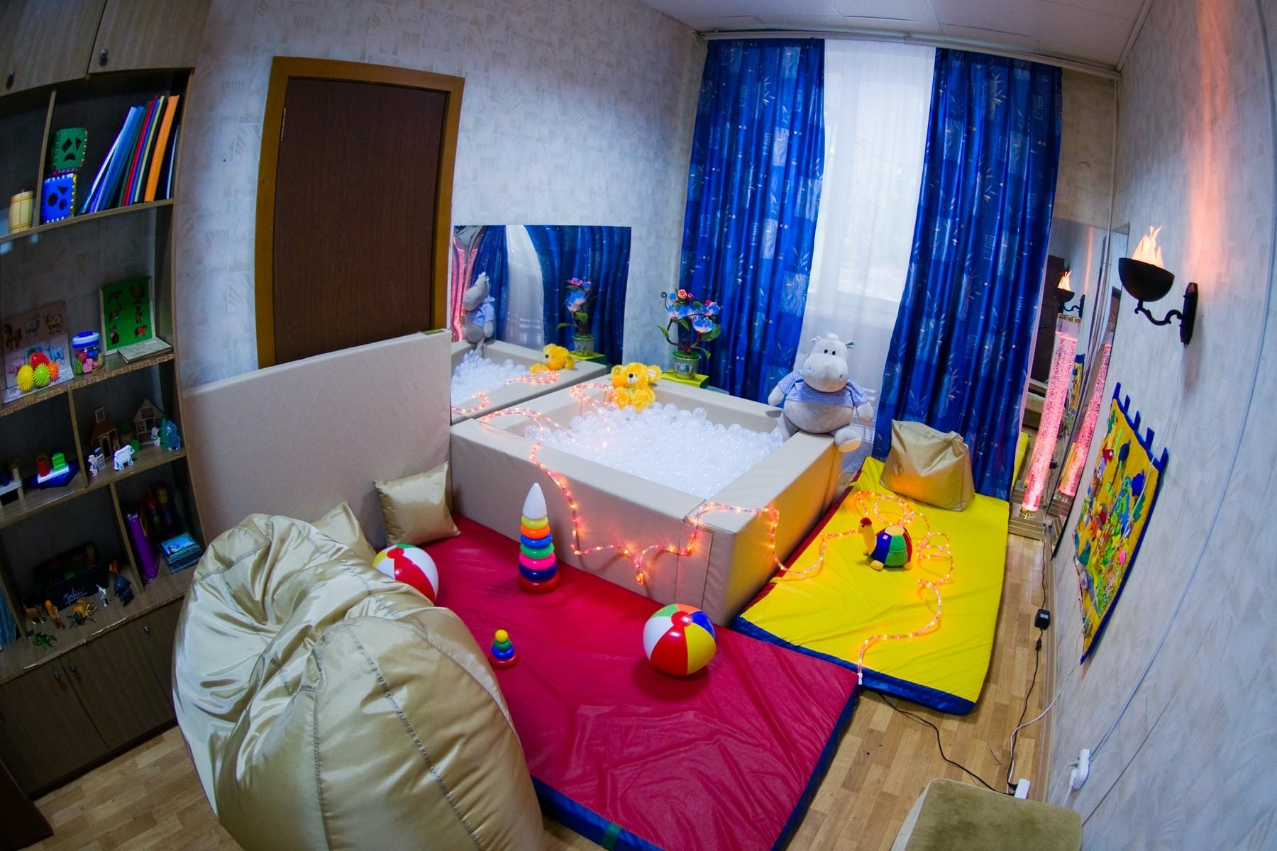 Сенсорной комнаты для детей фото