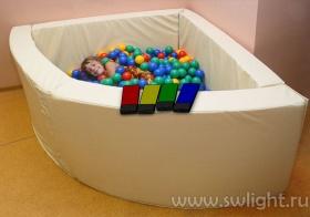 Как сделать сухой бассейн фото 980